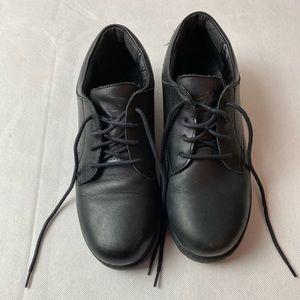 Boy's STRIDE RITE  Black Dress Shoes Sz. 6